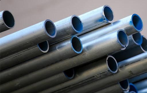 materiales galvanizados